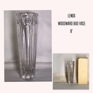 "🌹Bud Vase 8"" Woodward by Lenox 🌹"